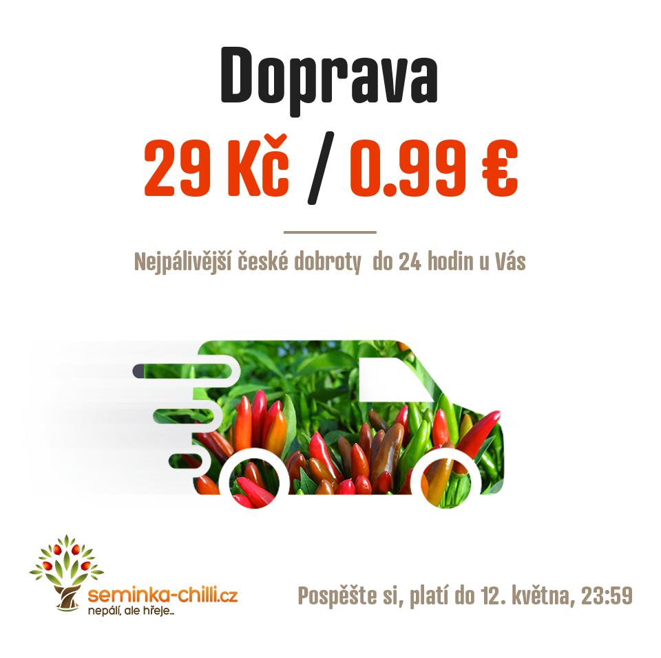 Najlepšie chilli produkty v Česko-Slovensku