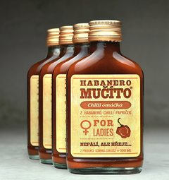 Balíček Habanero Mučíto for Ladies 4 ks