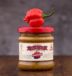 Krémžská hořčice  sMorugou